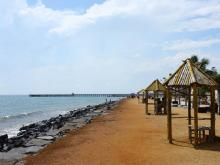 Puducherry Beach Image